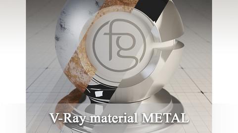 VRay Material Metals