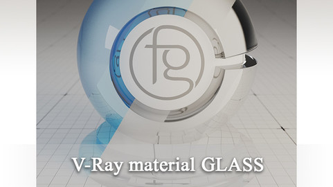 VRay Material Glass