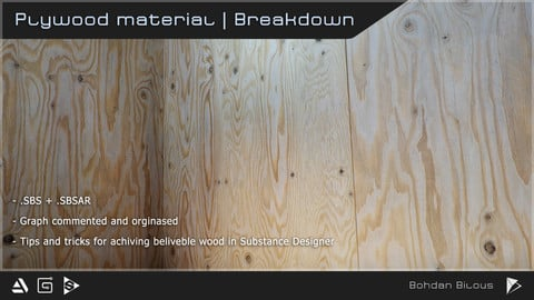 Plywood material with commentaries | sbs + sbsar