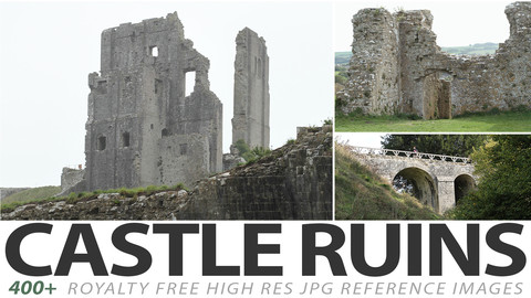 Castle ruins - reference images