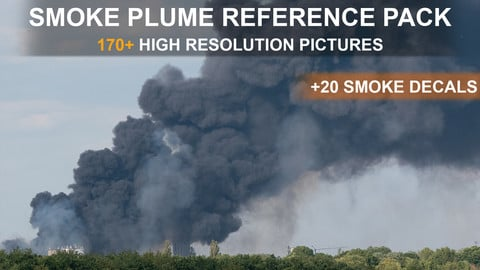 Heavy Smoke Plume & Decals - Reference Pack