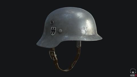 WWII German Helmet SET