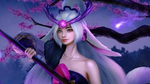 Spirit Blossom Lillia ( League of Legends )