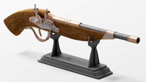 Decorative gun 6s