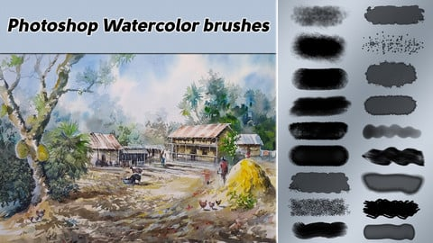 Photoshop Water Color Brushes
