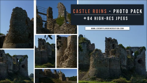 CASTLE RUINS - PHOTOPACK