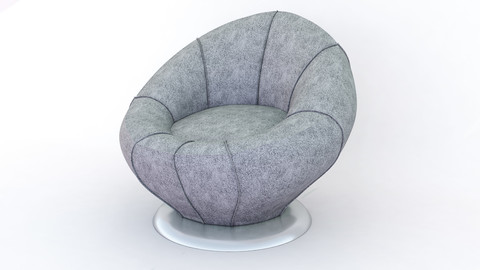 sofa-modeling 3dmax 2017