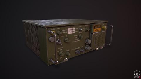 Military Radio Game Asset
