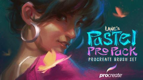 The Pastel Pro Pack : Procreate Brush Set