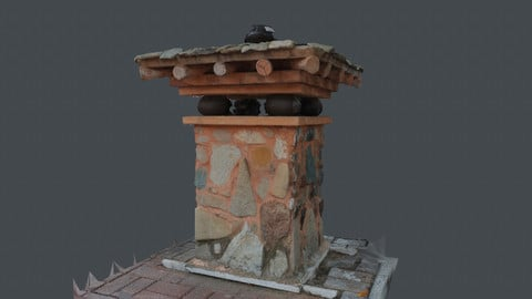 Photoscan_OBJ_0065_only HighPoly Mesh (16K Texture)