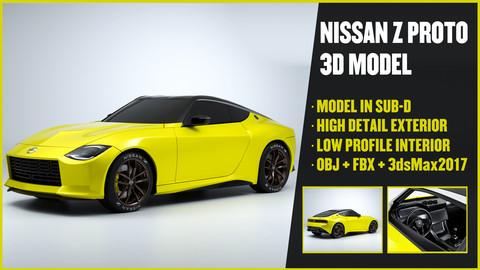 NISSAN Z Proto 3D Model