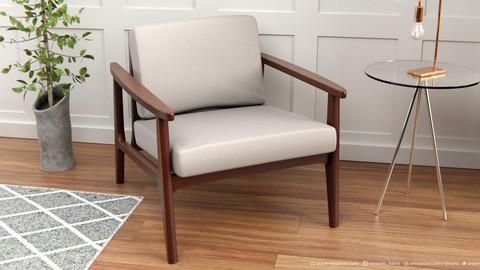 Win Armchair | 3D model | 2k Textures