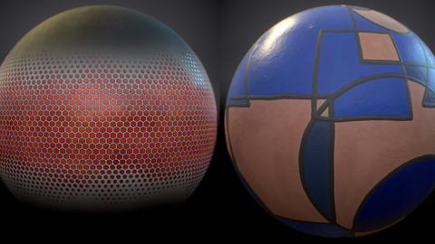 Digital & Geometric Painting Generators