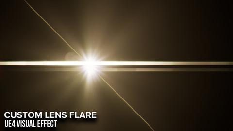 Custom Lens Flare VFX