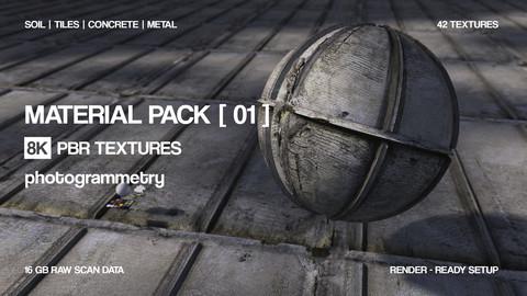 Free 8K Material bundle | 6 Materials |  Photogrammetry