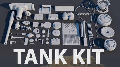 Tank Kit - Sub D w/ UVs