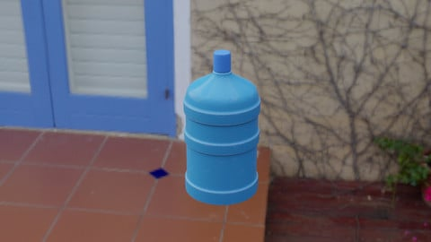 Water Demijohn  3D Model