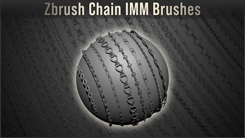 Zbrush - IMM Chain Brushes - 90% OFF