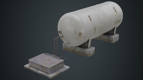 Industrial Gas Tank 2B