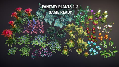 Fantasy plants 1-2