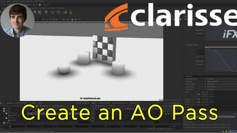 How to Create an AO Pass in Clarisse iFX