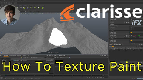 How To Texture Paint in Clarisse iFX