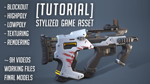 [Tutorial] Stylized Game Asset