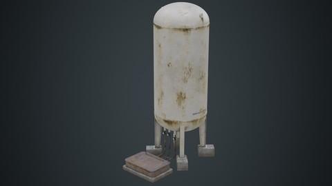 Industrial Gas Tank 3B