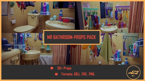 MR Bathroom-Props PACK