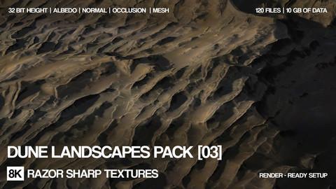 8K Dune landscapes pack