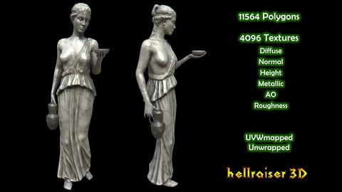 Victorian Statue - PBR - Textured