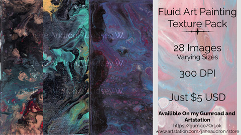 Fluid Art Painting Texture Pack