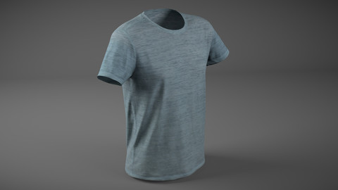 T-Shirt Low-poly