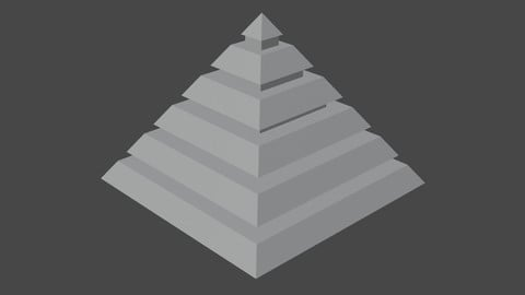 Pyramidal Structure with Interstices
