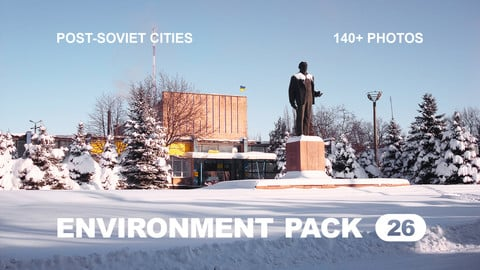 Env Pack 26 / Post-Soviet Cities / Reference pack