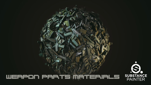 Weapon parts Material