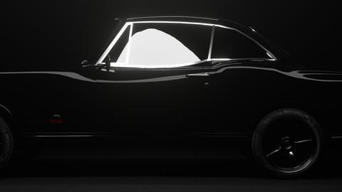 Chevrolet Impala 1967 SS 3D model