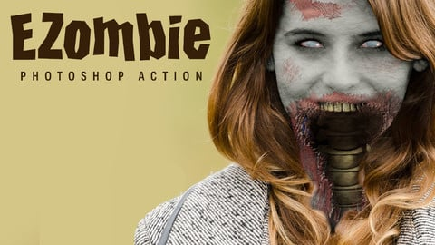 EZombie Photoshop Action
