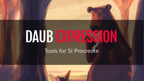 DAUB | Expression - 190 Artistic Tools for Procreate