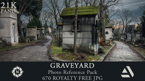 Photo Reference Pack: Graveyard