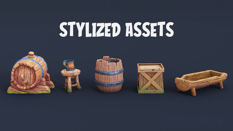 Stylized Assets 6 Pack