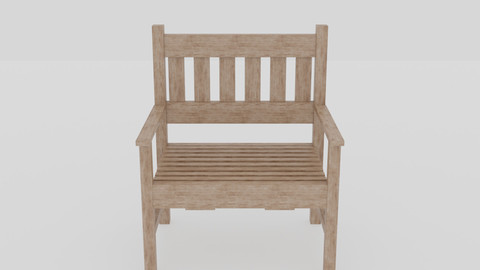 Terrace Wooden Chair