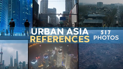 Urban Asia Reference Photos