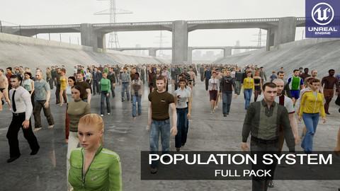 Population System Full Pack