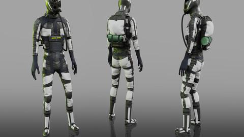 Offworld Exploration Spacesuit