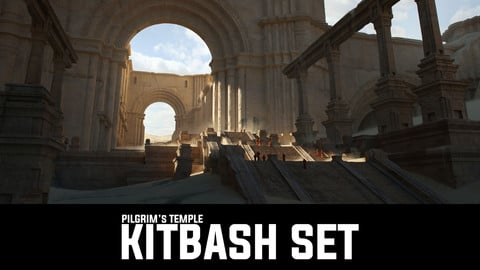 Pilgrim's Temple 3D Kit