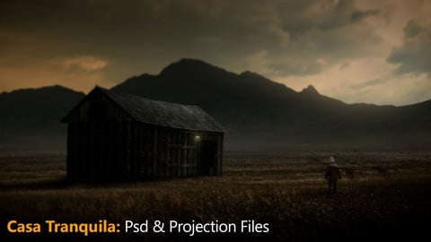 Casa Tranquila Psd & Projection files.