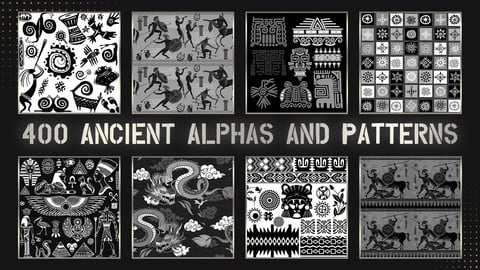 400 Ancient Alphas And Patterns