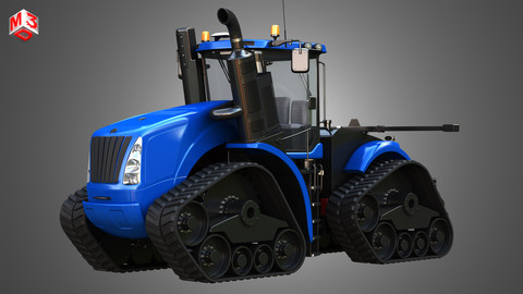 NH - T9 SERIES TRACTOR 3D model
