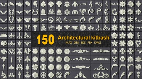 150 ARCHITECTURAL KITBASHES VOL 01